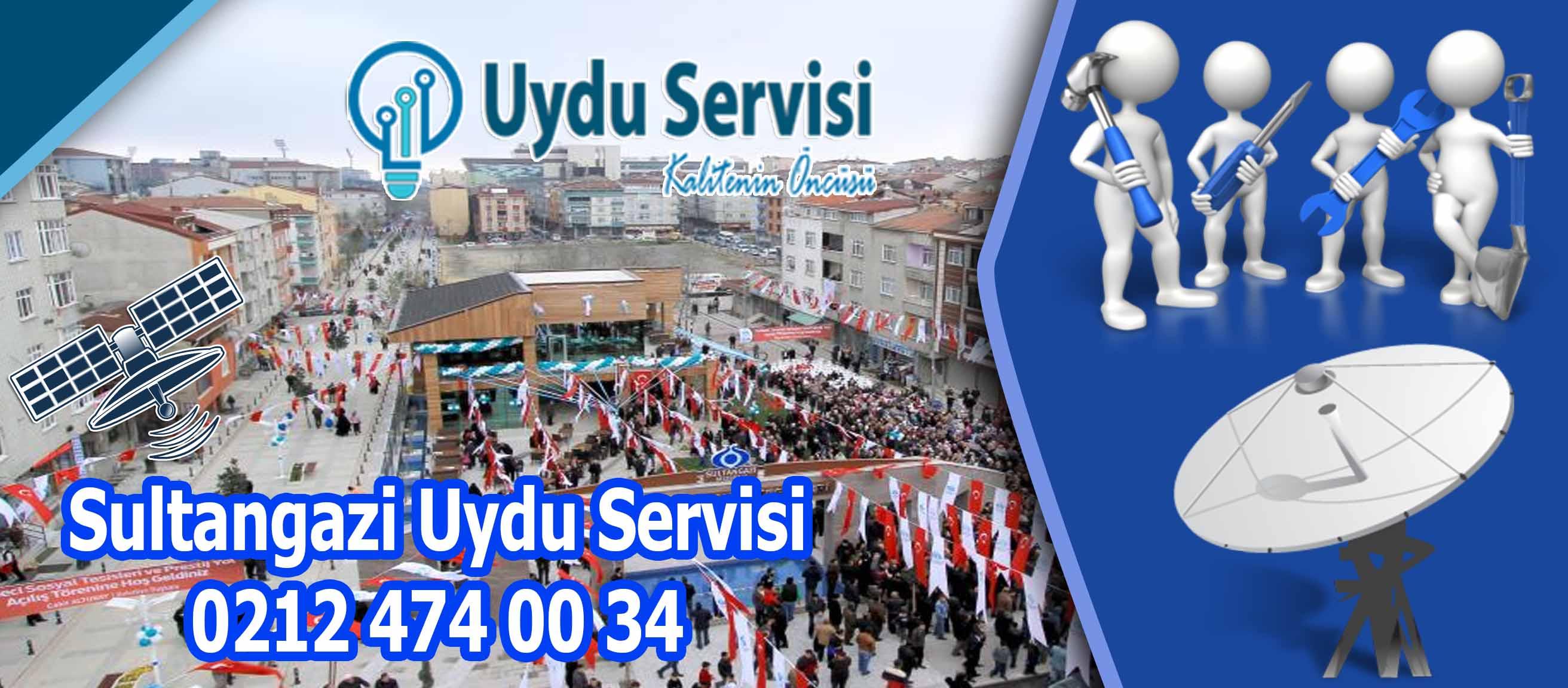 Sultangazi Uydu Servisi